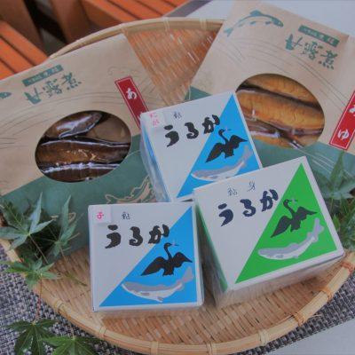 日田バスセンターの鮎の甘露煮とうるか